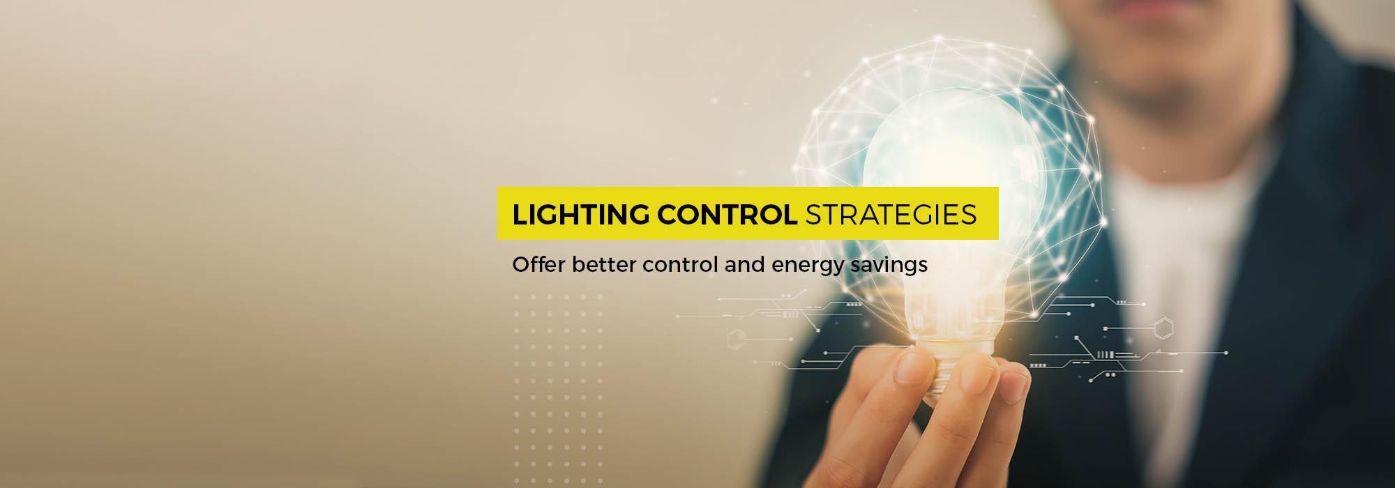 Best lighting control strategies